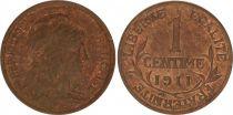 KM.840 GAD.90 1 Centime, Liberty head - 1911