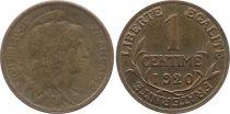 KM.840 GAD.90 1 Centime, Liberty head - 1920