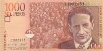 Kolumbien 1000 Peso J. Eliecer Gaitan - 2001