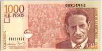 Kolumbien 1000 Pesos J. Eliecer Gaitan - 2015