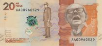 Kolumbien 20000 Pesos Alfonso Lopez Michelsen - 2015 (2016)