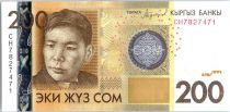 Kyrgyzstan 200 Som Alikul Osmonov - 2016