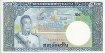 Laos 200 Kip Roi Savang Vatthana - Temple That Luang - 1963