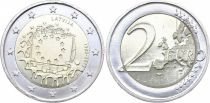 Latvia 2 Euro 30 years of European Flag - 2015