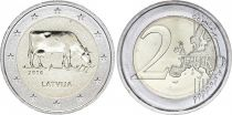 Latvia 2 Euro Cow - 2016