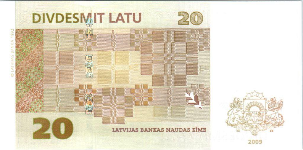 Latvia 20 Latu Rural homestead - 2009