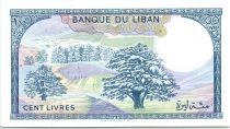 Lebanon 100 Pounds Beit-ed-Bin Palace - Cedar - 1988