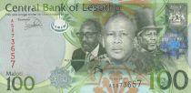 Lesotho 100 Maloti Roi Letsie III - Troupeau - 2013