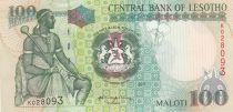 Lesotho 100 Maloti Roi Moshoeshoe I - 2001