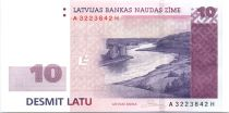 Lettonie 10 Latu Rivière Daugava - 2008