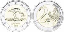 Lettonie 2 Euro Cigogne - 2015