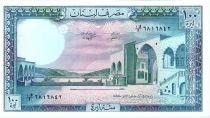 Liban 100 Livres Palais de Beit-ed-Bin - 1988