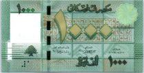 Liban 1000 Livres Motifs géométriques - Arbre - 2011