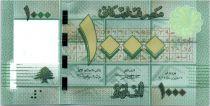 Liban 1000 Livres Motifs géométriques - Arbre - 2012