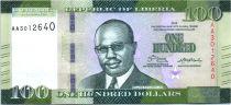 Liberia 100 Dólares, W. R. Tolbert - Mercado - 2016