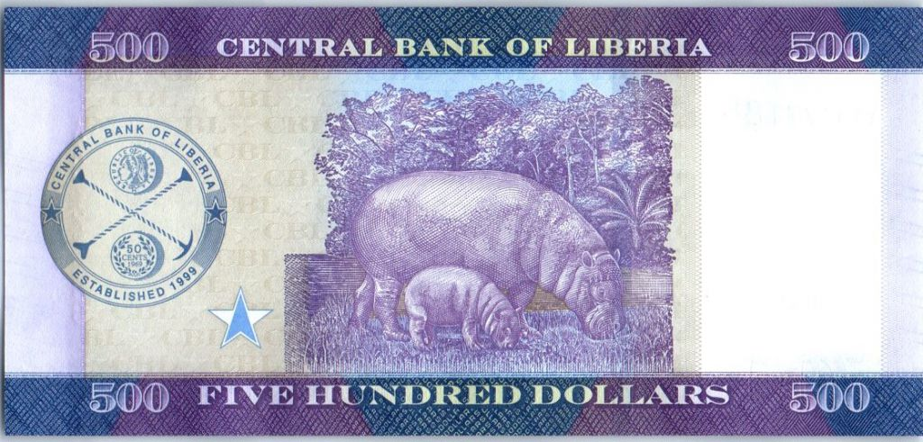 Liberia 100 Dollars, W. R. Tolbert - Marché - 2016