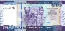 Liberia 100 Dollars, W. R. Tolbert - Market - 2016
