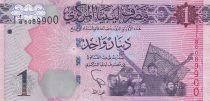 Libia 1 Dinar - Revolucionarios - Palomas - 2013
