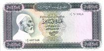 Libia 10 Dinar Omar El Mukhtar - Horsemen - 1971