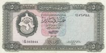 Libia 5 Dinar 1971 - Fortress
