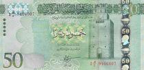 Libia 50 Dinars Benghazi - Monuments - 2016