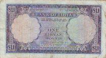 Libya 1 Pound Arms