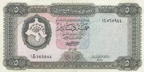 Libya 5 Dinar 1971 - Fortress