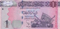 Libye 1 Dinar - Révolutionnaires - Colombes - 2013