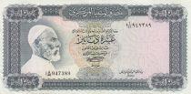 Libye 10 Dinars 1972 - Omar El Mukhtar, Forteresse, Cavaliers