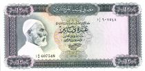 Libyen 10 Dinar Omar El Mukhtar - Horsemen - 1971