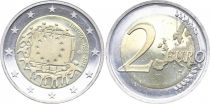 Lithuania 2 Euro 30 years of European Flag - 2015