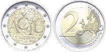 Lituanie 2 Euro Langue lituanienne ACIU - 2015