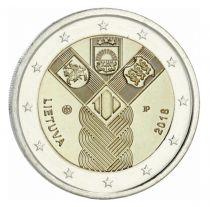 Lituanie 2 Euro Pays Baltes - 2018