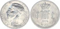 Luxembourg 10 Francs Duke Jean - 1974