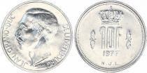 Luxembourg 10 Francs Duke Jean - 1977