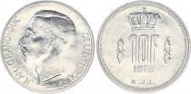 Luxembourg 10 Francs Grand Duc Jean - 1976