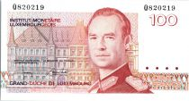 Luxembourg 100 Francs Grand Duc Jean - Luxembourg - 1986
