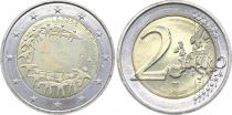 Luxembourg 2 Euro 30 years of European Flag - 2015