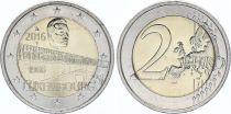 Luxembourg 2 Euro Duchess Charlotte bridge - 2016