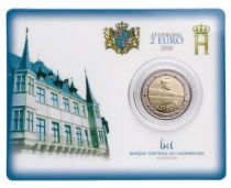 Luxembourg 2 Euro Pont Grande-Duchesse Charlotte - 2016 coincard