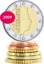 Luxembourg Série 8 monnaies de 1 cent à 2 euros - 2009
