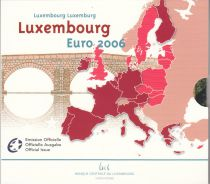 Luxembourg UNC Set Luxemburg 2006 - 9 euro coins