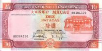 Macao 10 Patacas Bdlg - Bridge
