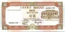 Macao 10 Patacas Immeubles - 1991