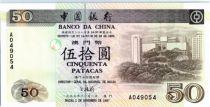 Macao 50 Patacas Université - Banque 1997