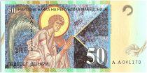 Macedonia 50 Denari,  Archange Gabriel - Old Coin - 1996 - P.15 a