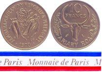 Madagascar 10 Francs - 1970 - Essai