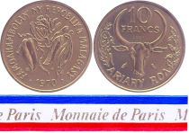 Madagascar 10 Francs - 1970 - Test strike