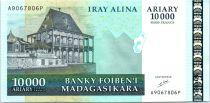 Madagascar 10000 Ariary Palais - Exploitation minière - 2006