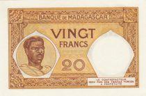 Madagascar 20 Francs Type 1926 -ND(1937-47)- Serial V.360 - P.37